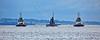 HMS Ambush approaching Rhu Spit - 9 October 2014