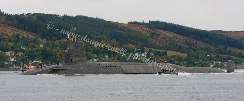 HMS Vanguard - Faslane