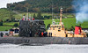 HMS Sceptre with SD Nimble in Attendance - Faslane<br /> <br /> She was decommissioned at Plymouth on Friday December 10 2010