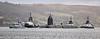 Vanguard Class Submarine at Rhu Spit - 6 April 2016