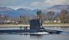 'USS Virginia' (SSN-774) off Rhu - 31 March 2016