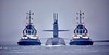 USS Alaska off Rhu Spit - 9 July 2019