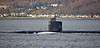 USS San Juan (SSN-751) off Cloch Point - 2 December 2017