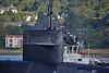 Ohio Class Submarine 'USS Wyoming' (SSBN-742) off Rhu - 21 September 2015