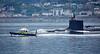 USS California ( SSN-781) off  Cloch Point, Gourock - 3 June 2018