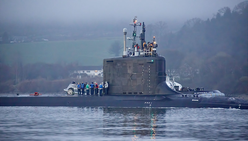 US Virginia Class off Rhu - 10 January 2020