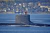 US Navy Virginia Class off Cloch Lighthouse - 20 September 2019- 20 September 2019
