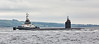 USS Norfolk (SSN-714) off Rhu - 11 June 2016