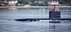 USS Albany (SSN-753) off Cloch Point - 29 May 2020
