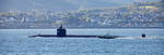 USS Helena (SSN-725) off Cloch Point - 5 May 2017