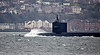 Ohio Class Submarine 'USS Maryland' off Kilcreggan - 16 March 2018