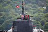 USS Submarine off Kilcreggan - 11 June 2016
