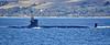 USS Navy Virginia Class off Cloch Point - 7 September 2019