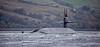 Ohio Class US Submarine off Rhu Spit - 7 October 2016