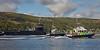Ohio Class USN Submarine USS Wyoming (SSBN-742)  and Flotilla bound for Faslane - 16 September 2015