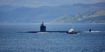 USS Hartford (SSN-768) off Cloch Point - 11 May 2017