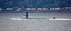 US Submarine off Cloch Point - 12 October 2016