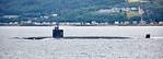 USS Toledo (SSN-769) off Cloch Point - 20 July 2017