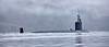 US Navy Virginia Class off Rhu - 17 October 2021