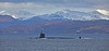 USS New Hampshire (SSN-778) at Cloch Lighthouse - 1 February 2021
