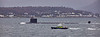 USS New Hampshire (SSN-778) at Cloch Lighthouse - 11 January 2021