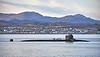 USS Seawolf (SSN-21) at Cloch Lighthouse - 12 January 2021