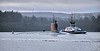 USS Seawolf (SSN-21) at Rhu Narrows - 22 December 2020