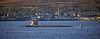 USS Seawolf (SSN-21) at Cloch Lighthouse - 24 December 2020