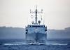 HNLMS Mercuur (A900) passing Greenock - 18 October 2017