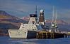 'HMS Dauntless' (D33) at Glen Mallan - 11 March 2014