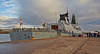 Embarking on 'HMS Defender' at  KGV Docks - 30 November 2013
