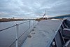 Over the Bow on 'HMS Defender' at  KGV Docks - 30 November 2013