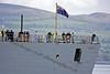 (HMS) Diamond - Heading for Sea Trials