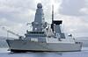 (HMS) Diamond - Passing Greenock - 15 May 2010