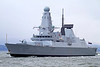 HMS Duncan (37) - Passing Port Glasgow - 19 March 2013