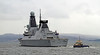HMS Duncan (D37) - Passing Port Glasgow - 19 March 2013