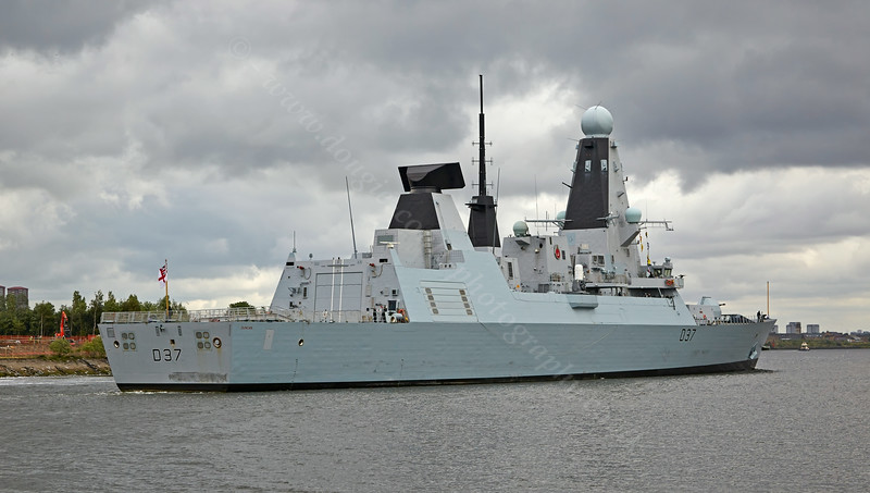 'HMS Duncan' at  Erskine - 30 July 2014