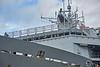 'HMS Bulwark' at Braehead - 2 May 2016