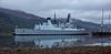 HMS Daring (D32) off Glen Mallan Jetty - 3 December 2015