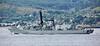 HMS Somerset (F82) off Cloch Lighthouse - 18 July 2016