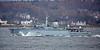 HMS Hurworth (M39) off Cloch Lighthouse - 26 February 2017