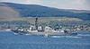 USS Farragut (DDG-99) at Cloch Lighthouse, Gourock - 25 May 2018