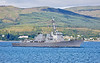 USS Farragut (DDG-99) off Cloch Lighthouse, Gourock - 9 July 2018