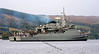 Brazilian Frigate 'Defensora' in Gareloch