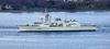 HMCS Toronto (FFH 333) passing Langbank - 29 October 2018