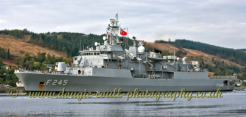 TCG Oruçreis Turkish Navy (F245) Frigate