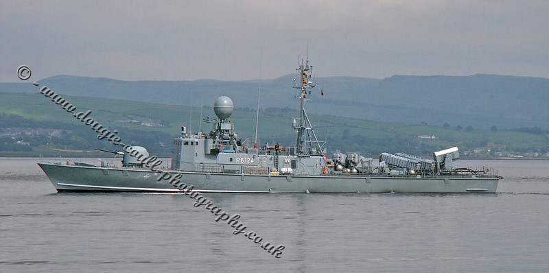 P6124 - Nerz - Patrol Boat - Germany
