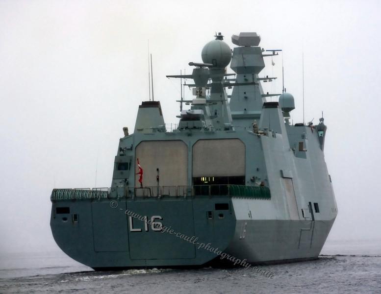 Danish Warship Absalon (L16)