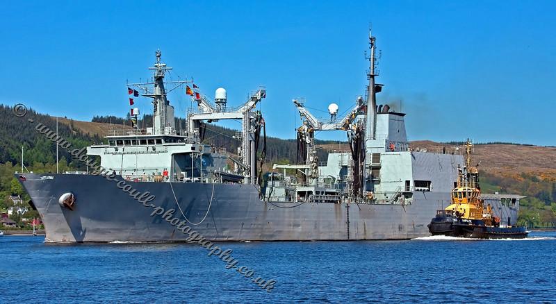 Patino - A14 - Spanish Auxiliary Replenishment Vessel