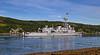 French Frigate 'La Motte-Picquet' - D645 - Off Rhu Spit - 16 June 2014